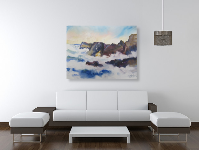 Decorate your living room with original art