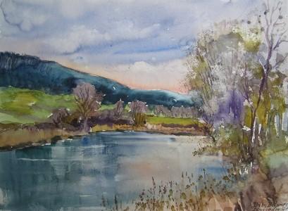 Pond in Spring, Bohemia
