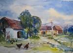 Farm House in Beneda, Bohemia